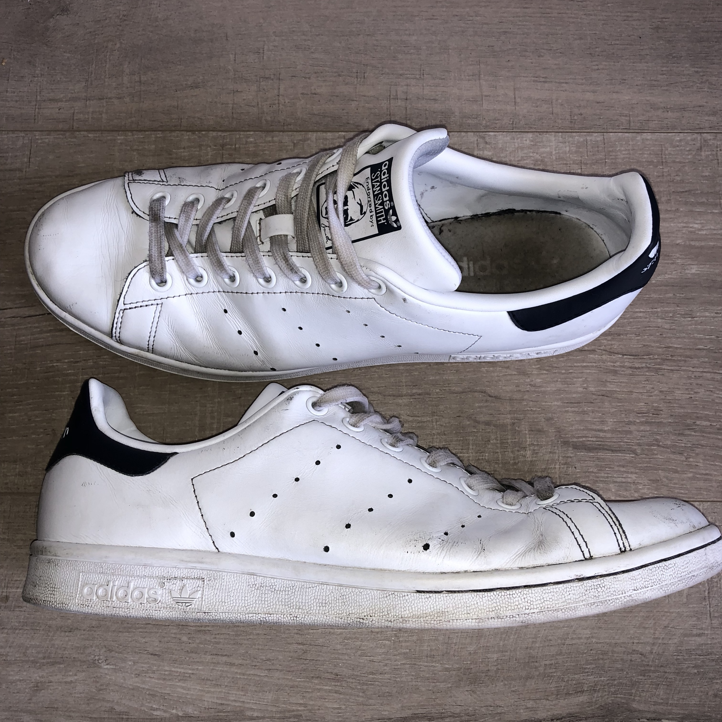 outlet store 86d12 4ac10 Adidas Stan Smith | UK 11 | Have been worn | 7/10... - Depop