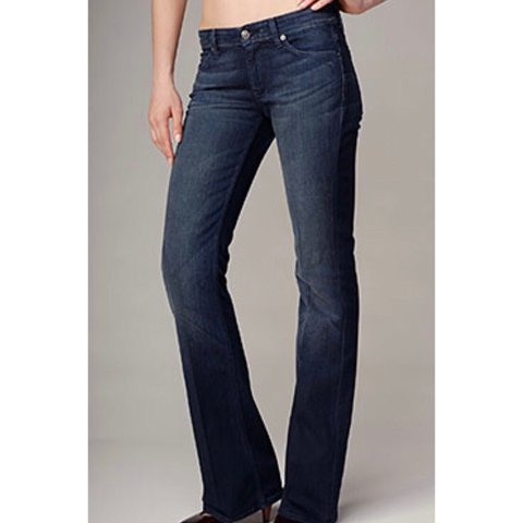 6828c418ffd @resalesnob. 5 months ago. Los Angeles, United States. NWT 7 for all Mankind  Flynt Jeans Size 32. Slim Bootcut