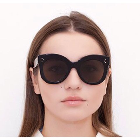 22367cde7b Nwot celine chris round sunglasses black non polarized lens depop jpg  480x480 Chris sunglasses