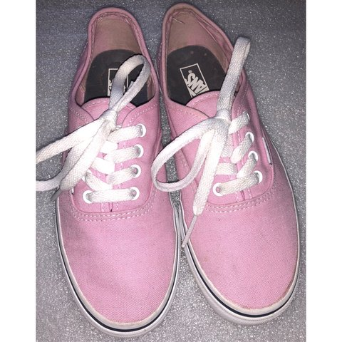 3fe1b5a58b Pre•loved VANS Girl s Tennis Shoes Kids size - Depop