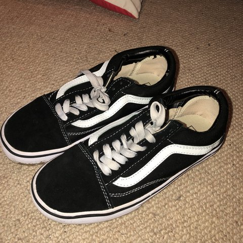 e41ae4897d08a9 Fake Old Skool Vans Different back and side stitching but 7