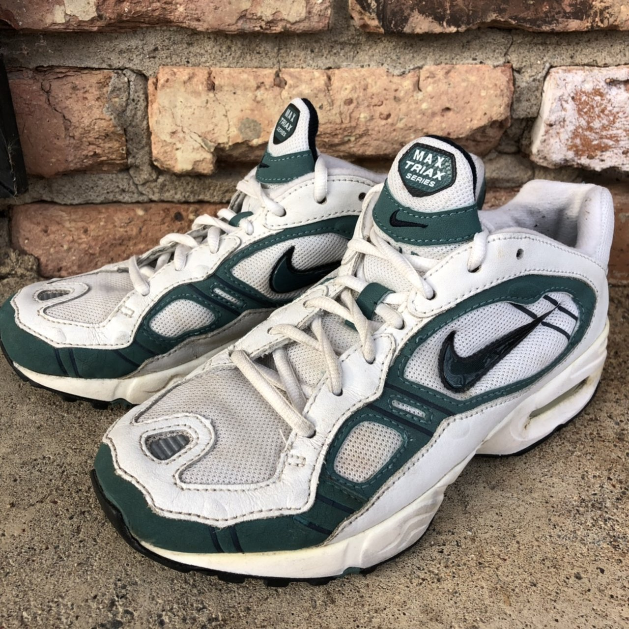 2c0b89d87cc can t believe we re selling these😭Nike Air Max Triax 98 in - Depop