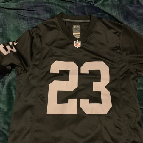 New NFL Authentic Oakland Raiders Jersey 23. Medium Depop  free shipping