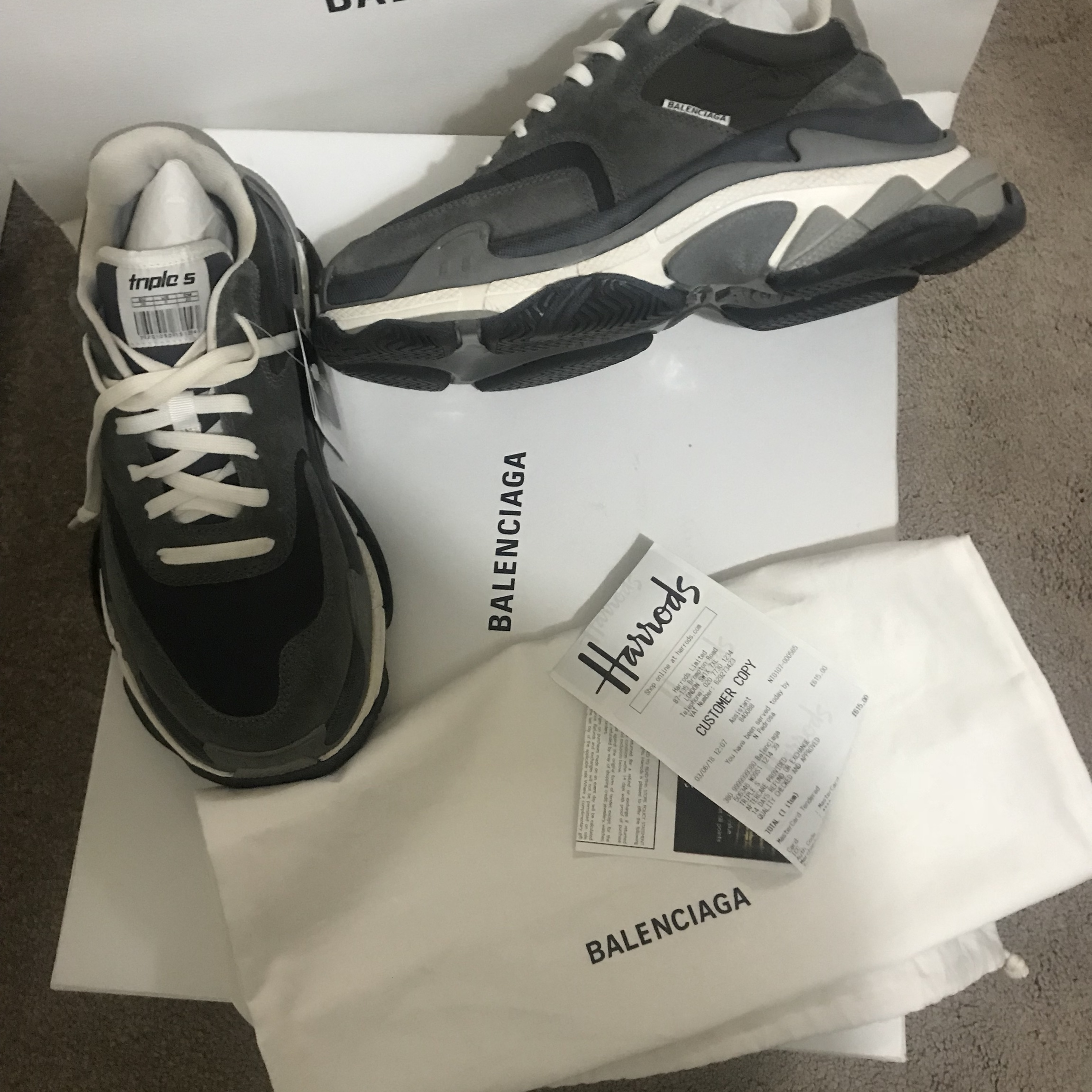 Balenciaga triple s trainer Bought from