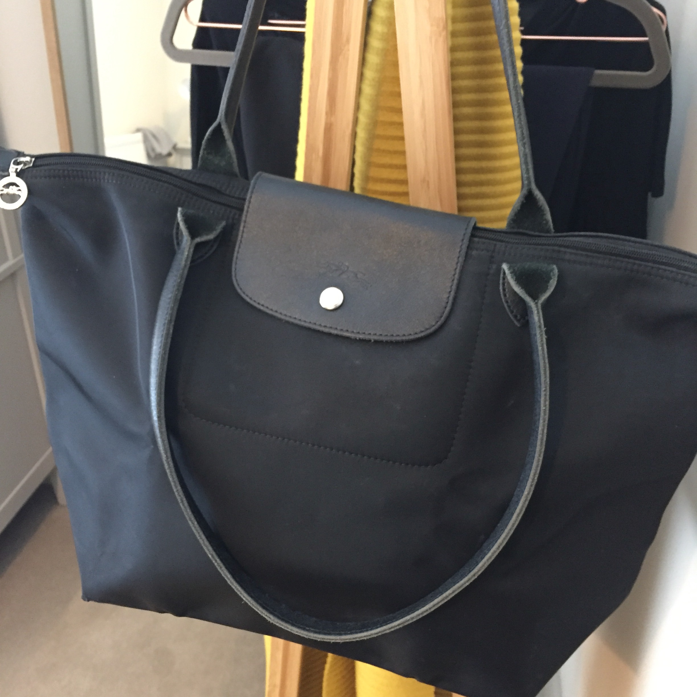 Longchamp Le Pliage Neo Shopper with long handles