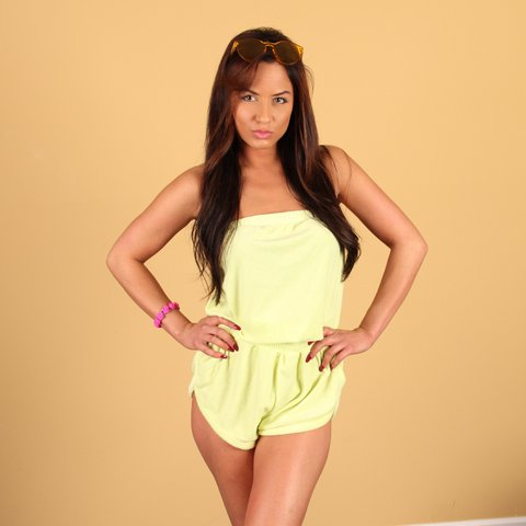b0fbdbb9d3541 @barbiekay. 2 years ago. Atlanta, GA, USA. Size Small: Forever 21 Terry  Cloth Romper: Beach Cover Up!