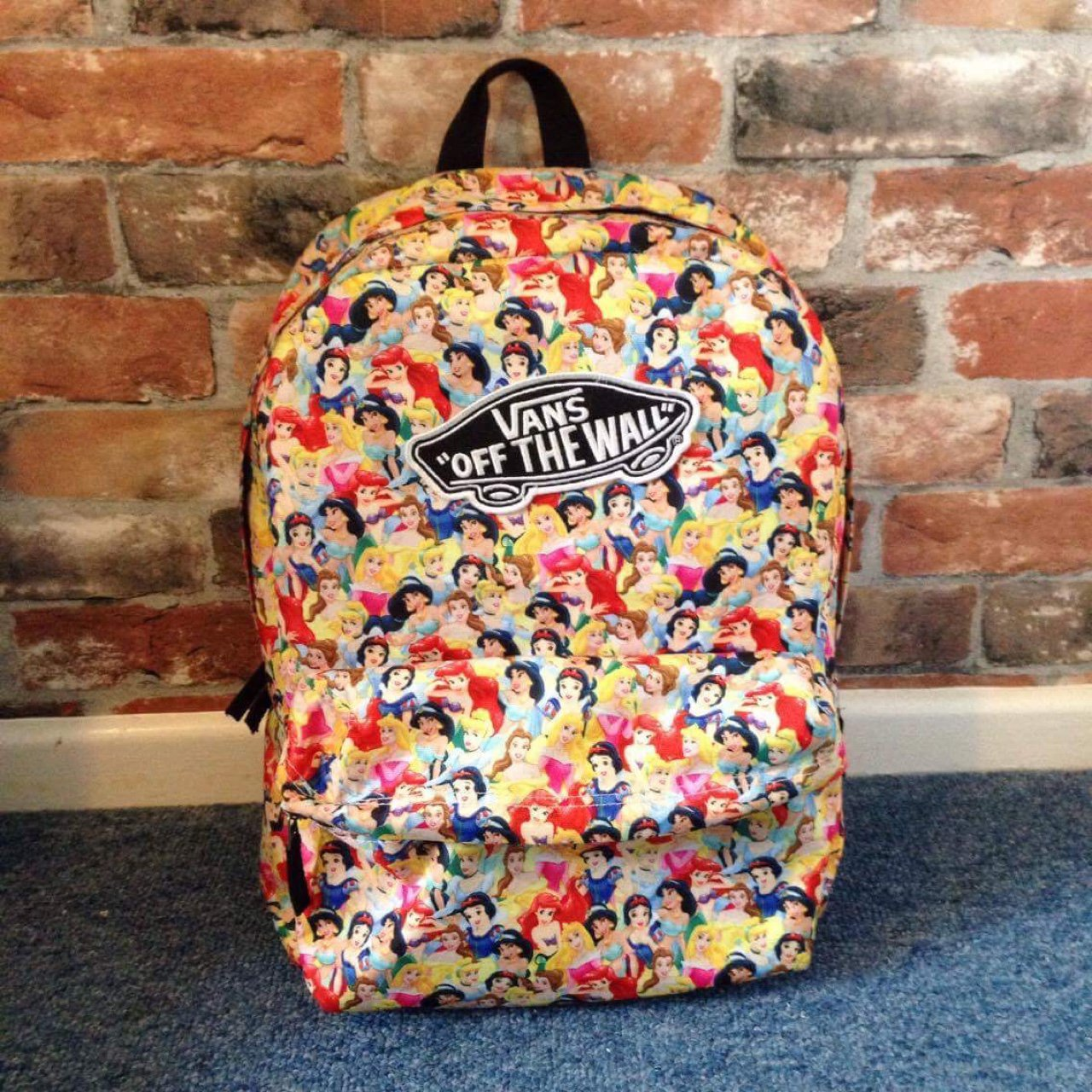 d7dd66894dab Vans disney princess backpack used perfect condition depop jpg 1280x1280 Vans  princess backpack