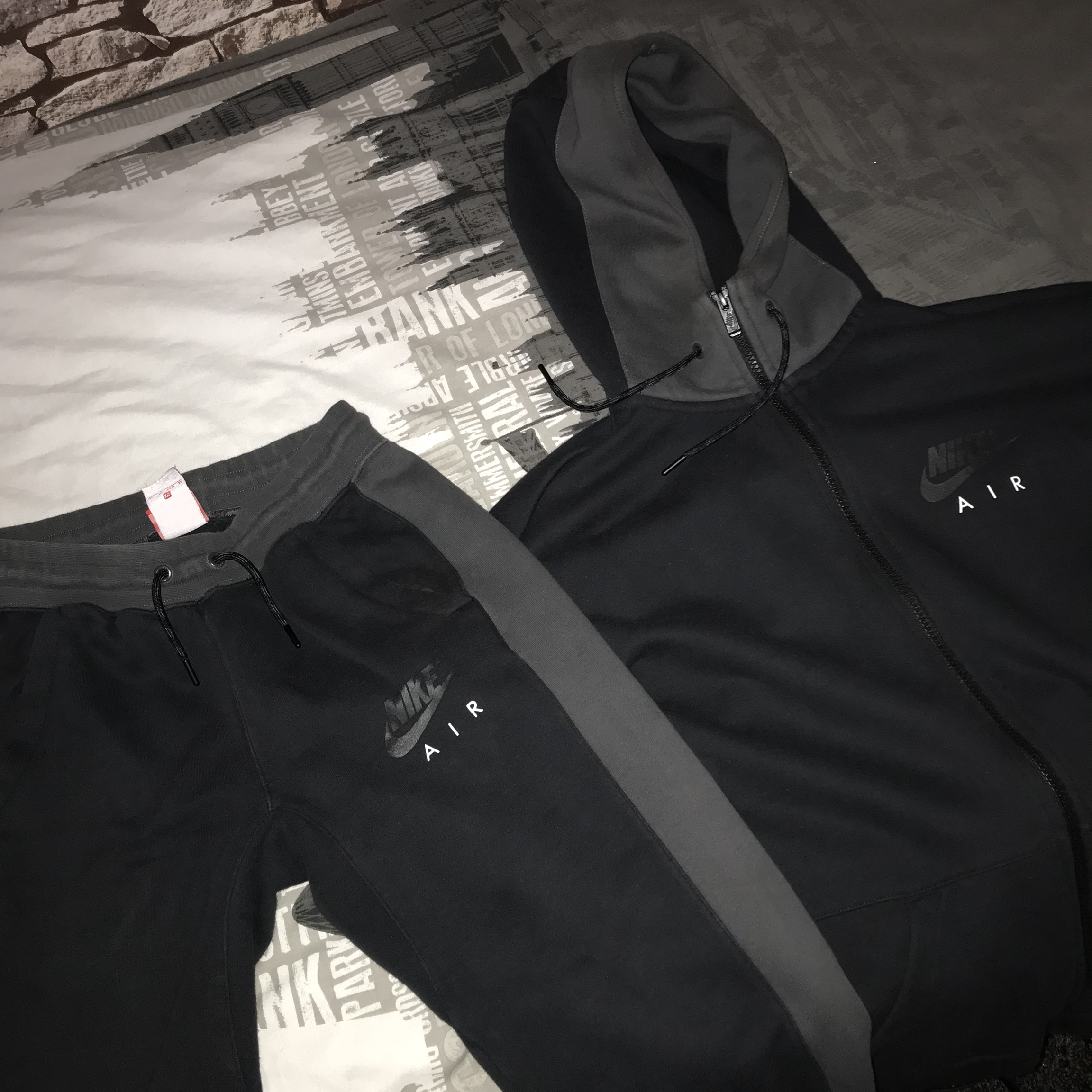 grey Nike Air tracksuit