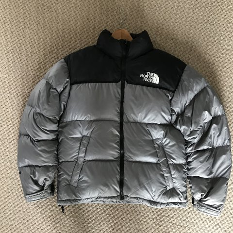 4cdb6f4952 The North Face Silver Nuptse 700 Puffer Jacket 🔥 Goose down - Depop