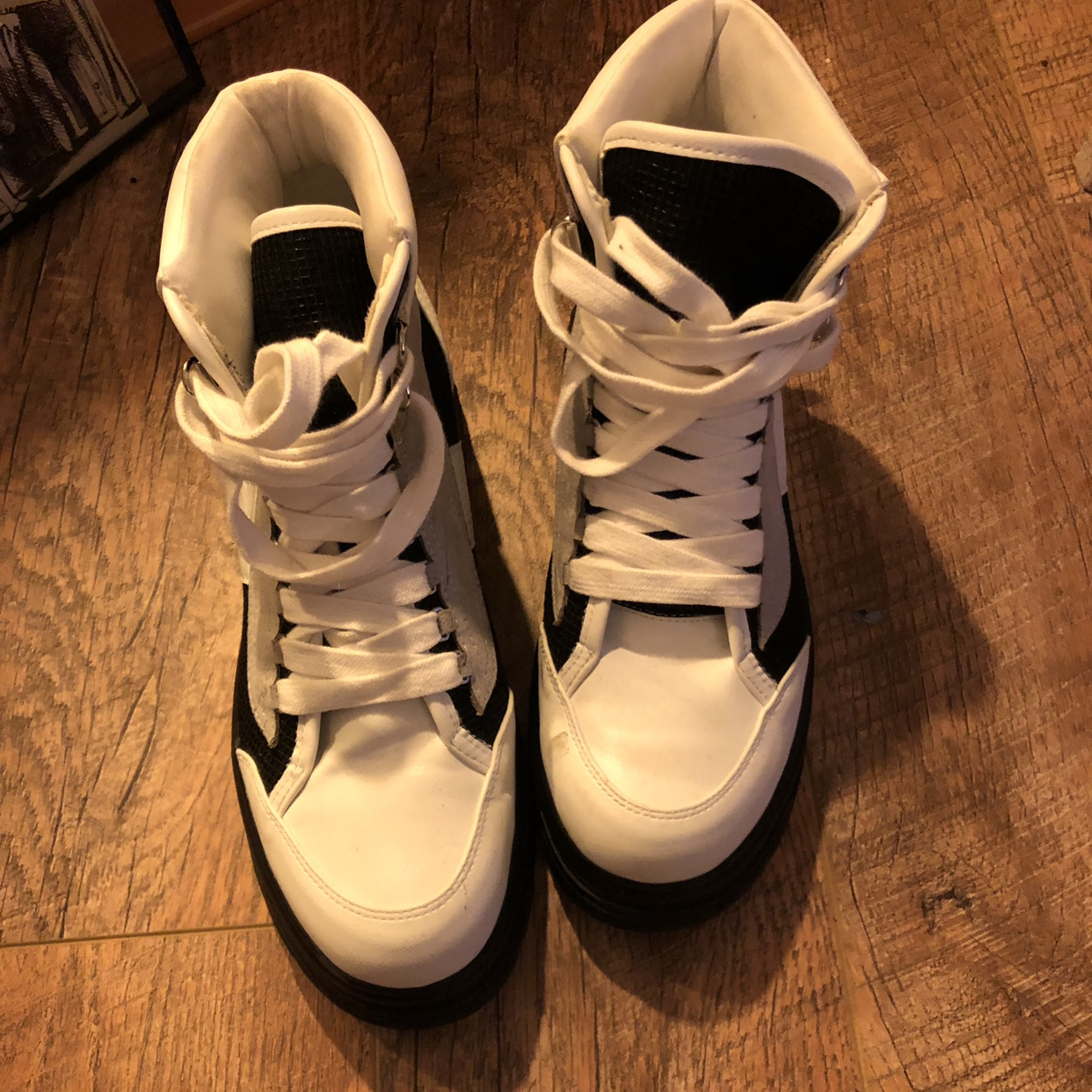 Topshop KARLA chunky lace up trainers