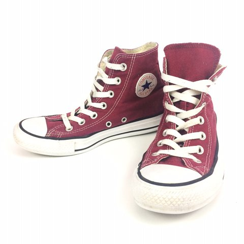 567b1858b2f2 🌟Retro pair of red Converse high tops. Men s size 4 Women s - Depop
