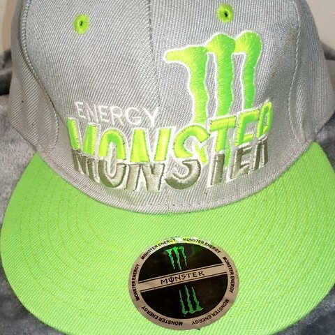 53514c7067 Men s Official Monster Energy Baseball Cap In Very Good  hat - Depop