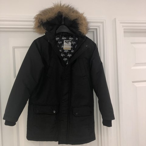 d5291e962bfc RRP £55 from JD sports BLACK Hype padded parka junior coat - Depop