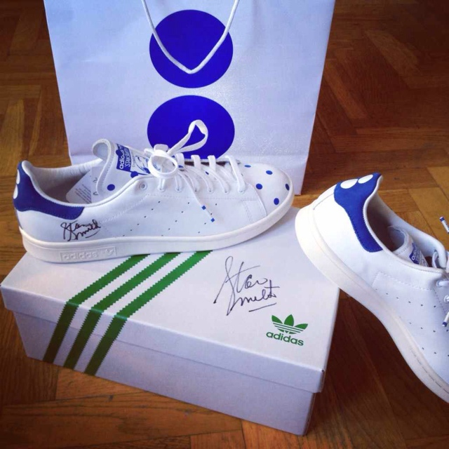Adidas stan smith colette signed size