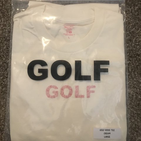 96d38a1dd6e7 ON HOLD Golf wang rose tee large Brand new deadstock! 10 10 - Depop