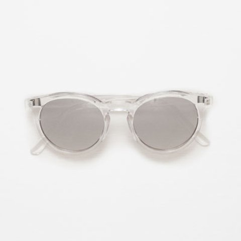 9223fb95479ef Acne studios style round clear sunglasses from Zara