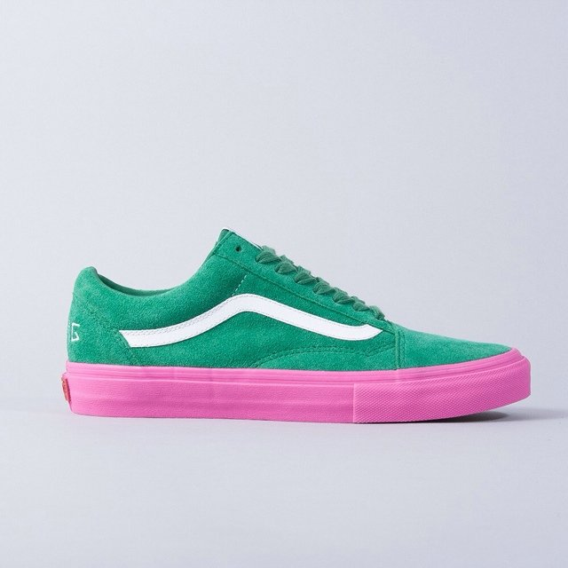 ea766476f3 Vans Syndicate x Odd Future green pink UK 8.5 US 9.5 - Depop