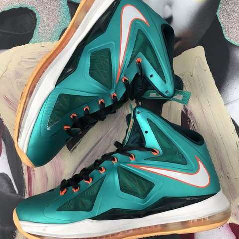 low priced 07a3d d728b  alti tude. 6 months ago. Tallahassee, United States. Lebron 10 ! Miami  Dolphins Colorway!