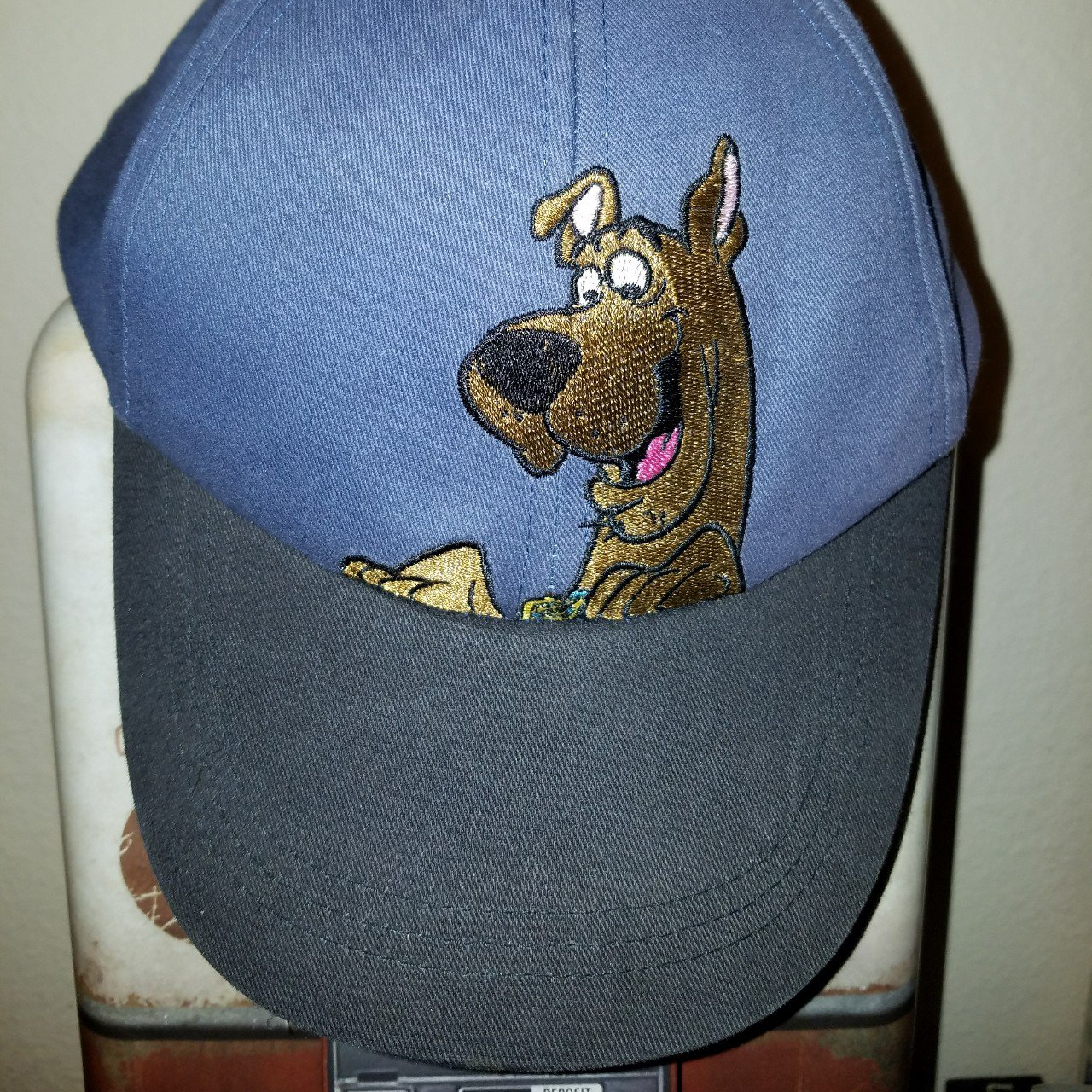 Scooby Doo velcro strap dad hat Condition   Cartoon  Dogs - Depop 42799b95784