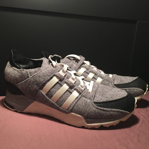 """new styles ab1a7 744a7 adidas EQT support 93. """"winter wool"""" grey black colorway. of - Depop"""