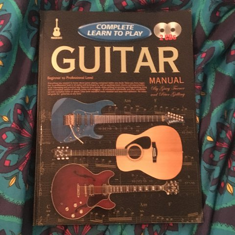 Learn To Play The Guitar Book