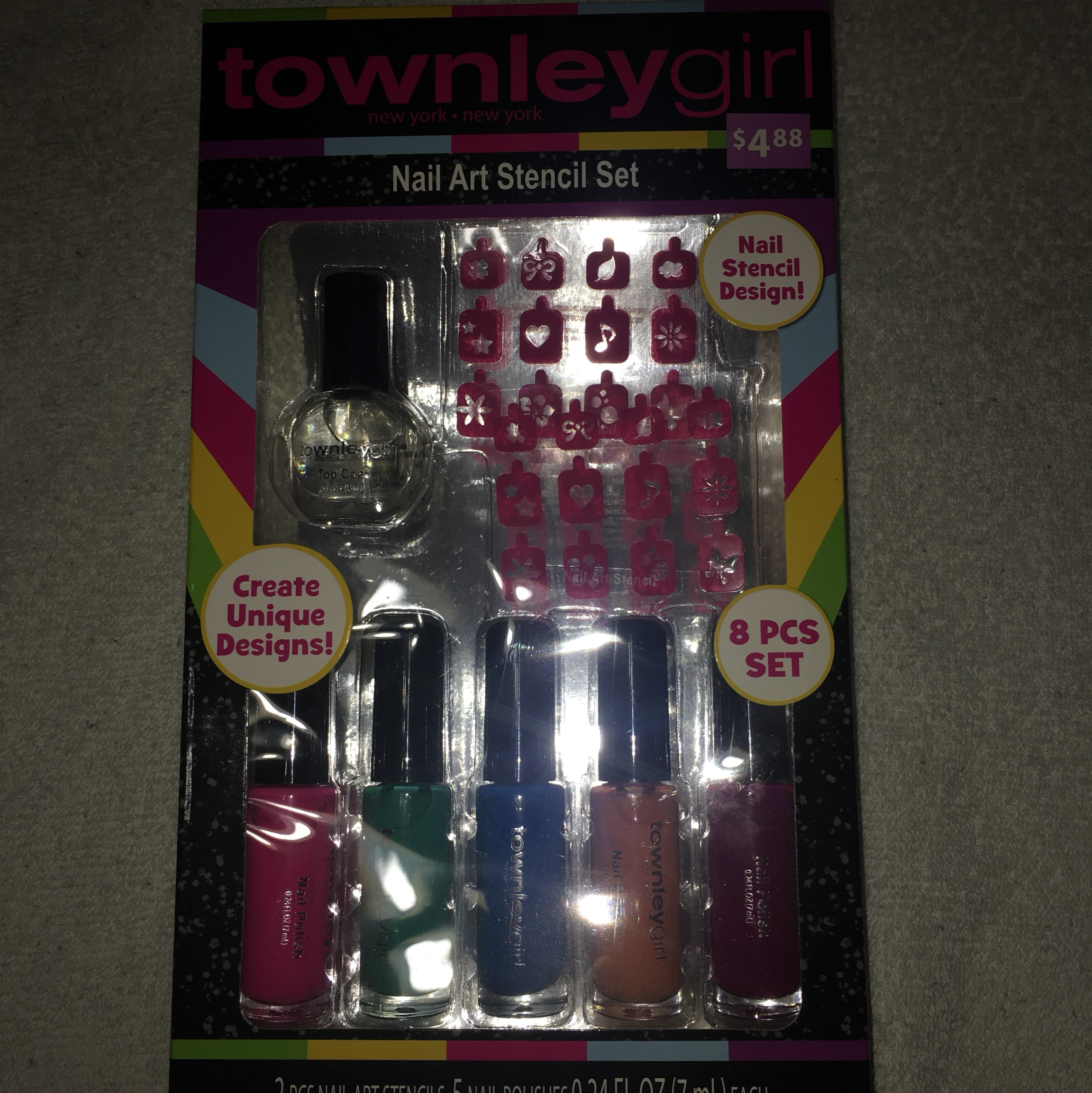 townley girl 8 piece nail polish set never been used    - Depop