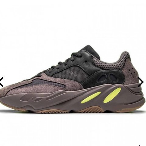 6d6d6a2f10f Selling these mauve yeezy wave runner 700. Size 7. Message - Depop