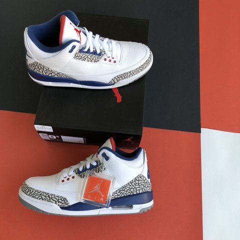 "9058b1eb3e74 🔥 Air Jordan 3 Retro OG ""True Blue"" (2016)"