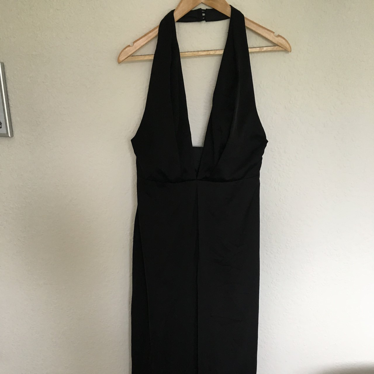 c3e543155d1 ASOS Satin Plunge Jumpsuit size 8 Worn a couple of it