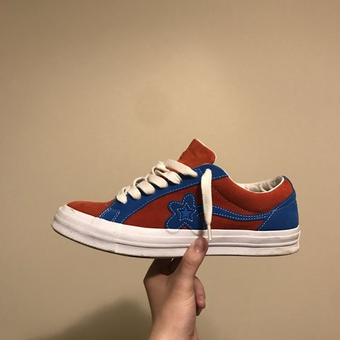 RED AND BLUE SPIDER MAN GOLF LE FLEUR SIZE 9.5 !!! 9 10 is - Depop 0decdf45a68