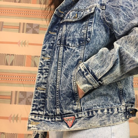Vintage Guess Denim Jacket This Georges Marciano For Guess Depop