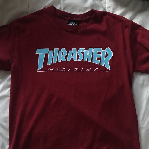 2a935ca37af7 @helaenaaaa. 2 months ago. Tacoma, United States. small red blue white  thrasher shirt ...