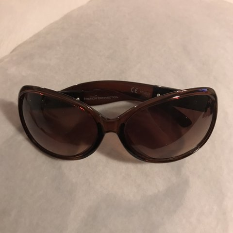 f7c5a05f7c French connection sunglasses Hardy worn - Excellent - item - Depop
