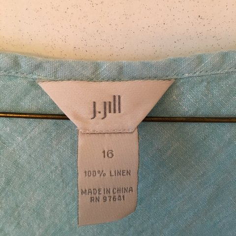 59e0406542 J. Jill Vintage Denim Dress worn once size  10 - Depop