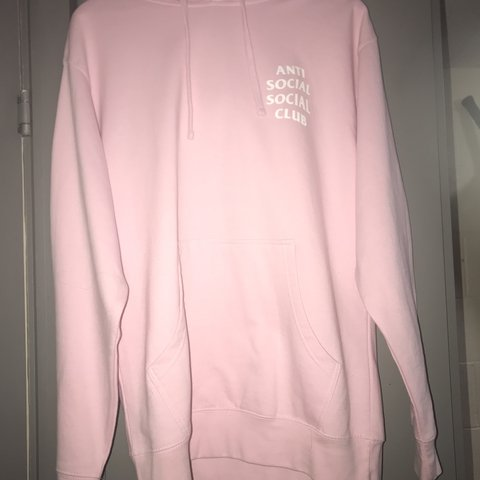 c5eae594f106 Anti Social Social Club Know you better Hoodie - Pink Size