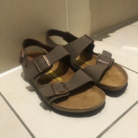 fd22513917f Birkenstock NEVER been worn Triple Strap Sandals  sandal - Depop