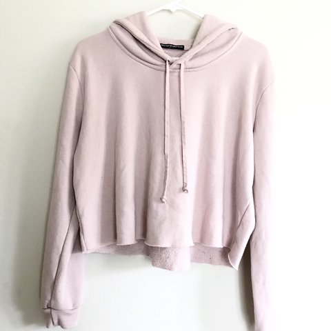 f37cb6cc5e28f Light Pink Brandy Melville pullover crop top sweater. No or - Depop