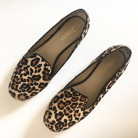 1532e2b8e @fsavory123. 2 years ago. Sheffield, United Kingdom. Jones Leopard Print  Flat Shoes ...