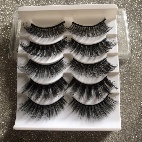 31191899d79 Buy Now on 😍 LUXE Mink Style 3D lashes / False Eyelashes 5 - Depop