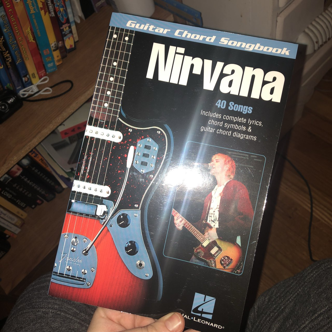 Nirvana Guitar Chords Song Book In Perfect Condition Never Depop