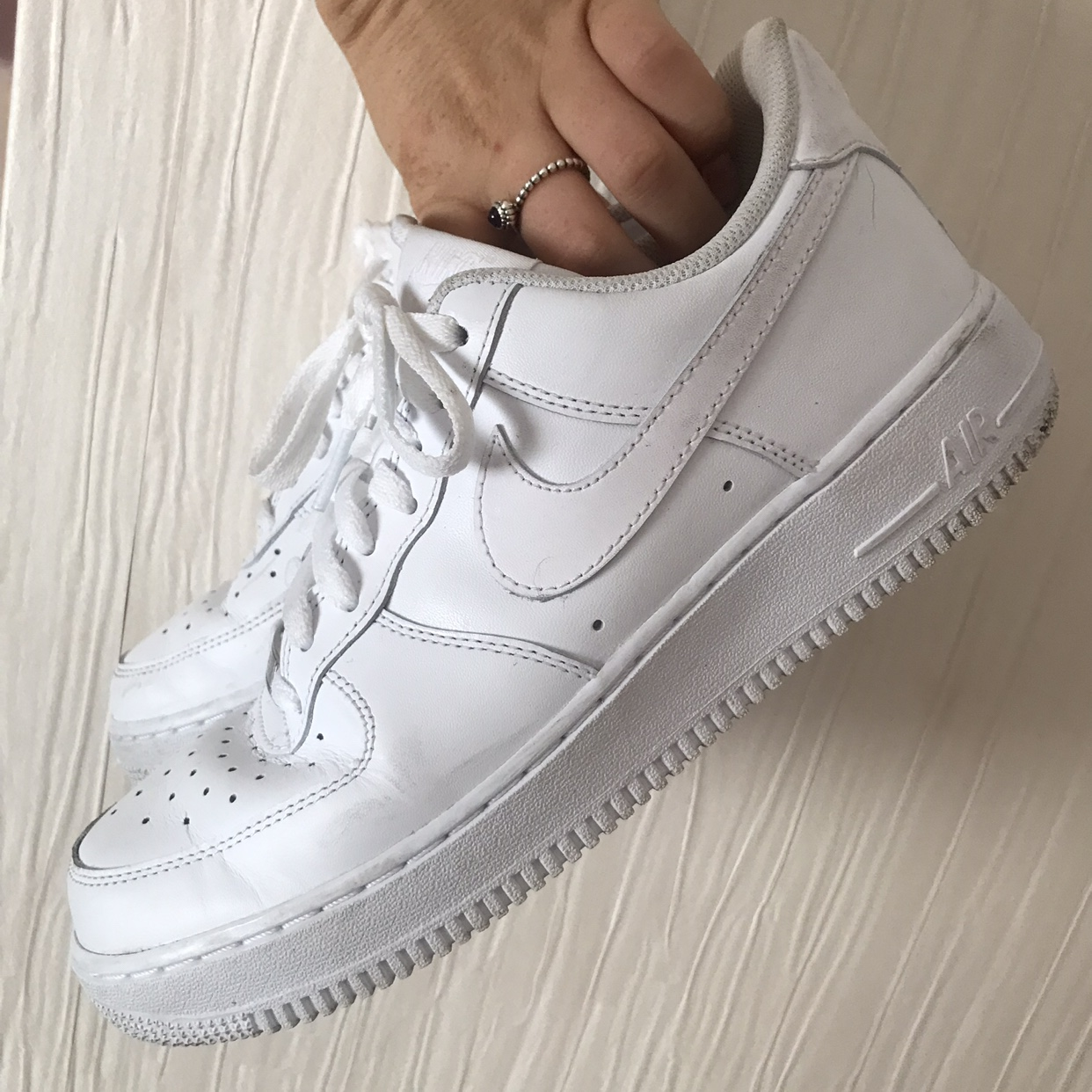 Nike Air Force 1 Low Women S Size 7 Worn Twice Depop
