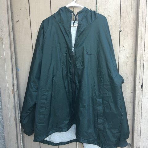 a3d3abf8fb Vintage Nike rain jacket Excellent condition Size XXL - Depop