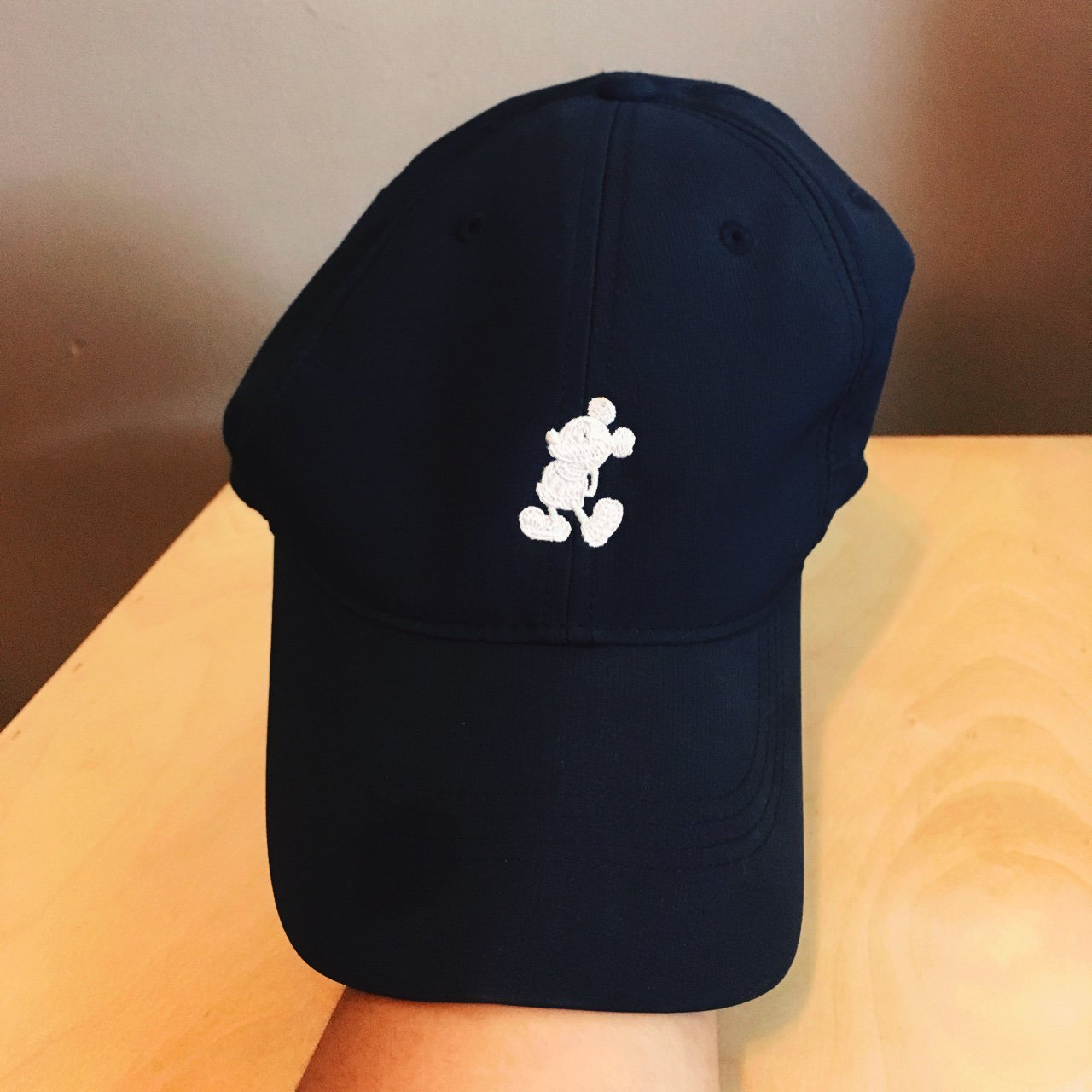 Disney- Mickey Mouse- Nike hat Worn 2 times Park hat size - Depop 1303e56a8cd