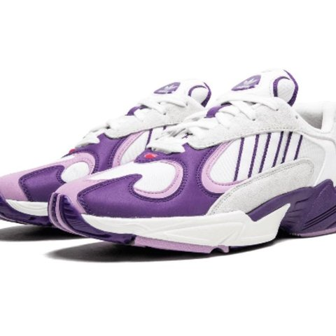 b9e077028101 Adidas x Dragon Ball Z colaboration Yung -1 (Freiza) Sizes - Depop