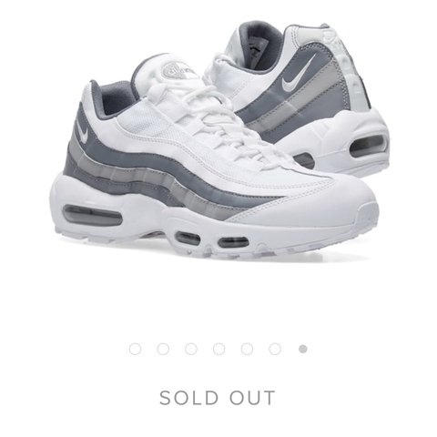 check out 83bc5 bbfac  essy114. 5 months ago. Harrow, United Kingdom. Nike air max 95 white cool  grey and wolf grey