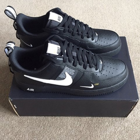 Nike Air Force 1 Utility Low Junior Black Kids from Jd Sports on 21 Buttons