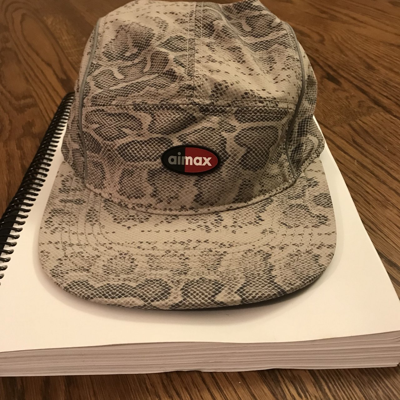 Supreme Nike air max collab snakeskin Hat In hand and to - Depop 382210d7fb1