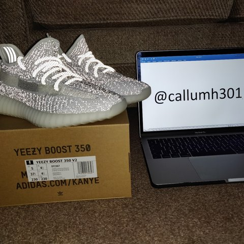4d4680b6 @callumh301. 5 months ago. Tonbridge, Kent, United Kingdom. Adidas YEEZY  Boost 350 v2 Static Reflective Size: UK 4.5 ...