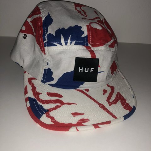 c519f24242bab HUF 5 Panel Hat. Fantastic condition. Free shipping from the - Depop