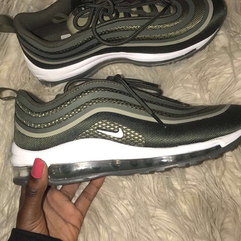 ff000afcb4 KHAKI NIKE AIR MAX 97 In very good condition (barely worn) - Depop